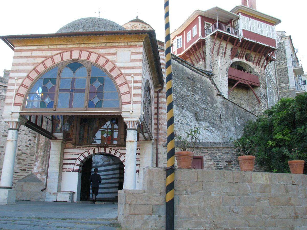 Manastirea Vatoped - Pelerinaj Muntele Athos